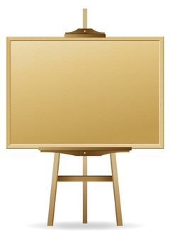 Menu sign board (cork board)