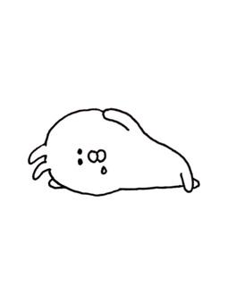 A nap rabbit