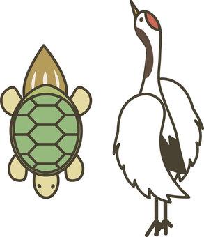Japanese Pattern 03 (crane and tortoise)