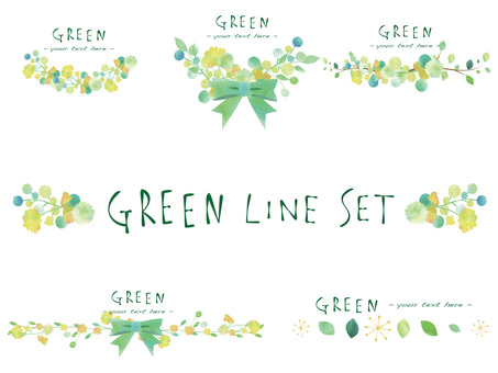 New green line set ver 02