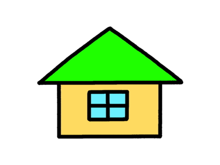 Small house green