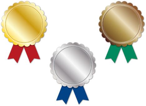 Medal · Medal Gold · Silver Copper