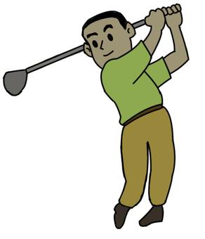 Golf boy 01