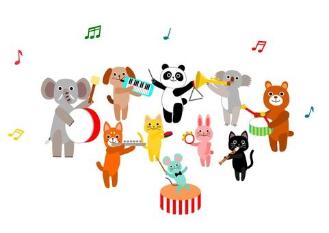 동물들의 음악회