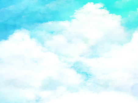 Sky and clouds background material 04