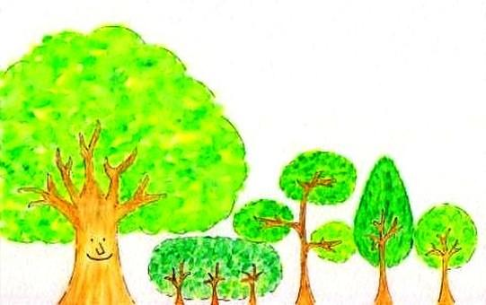 card:trees
