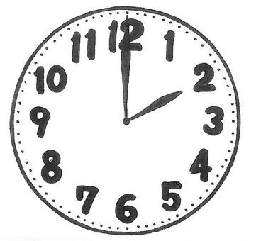 2시입니다. 시계 시계 clock
