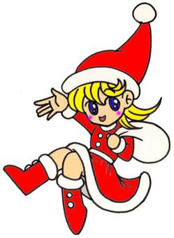 Santa chan character