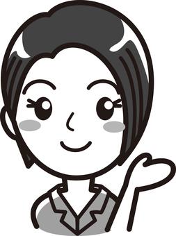 여성 02 프레젠테이션 02- 그레이