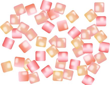 清潔玻璃糖果