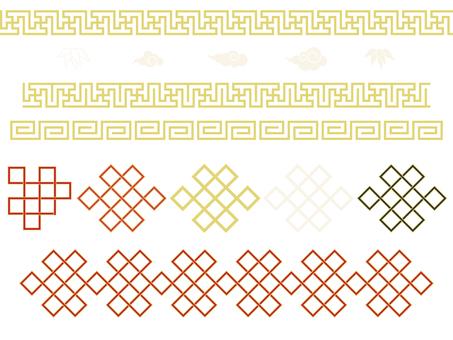 Pattern - Chinese pattern - Chinese style set (no background