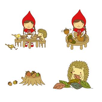 Little Red Riding Hood Set · 08