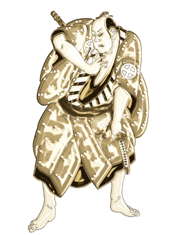 Matahira's gold version of Tsuji Otani Koji