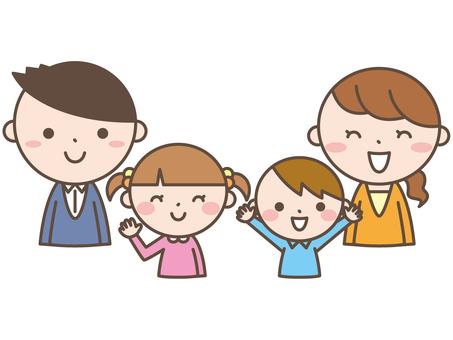Family 2 smile