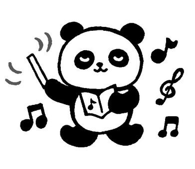 指揮熊貓3(單色)