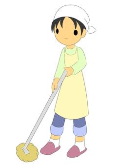 Cleaning Mop Men