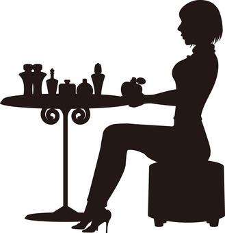 화장품과 여성
