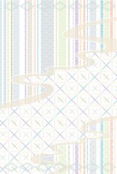 Japanese pattern frame length