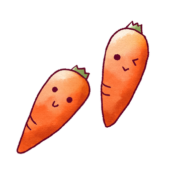 Face carrots
