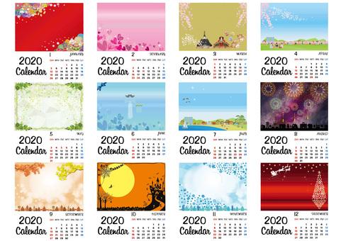 日曆_2020