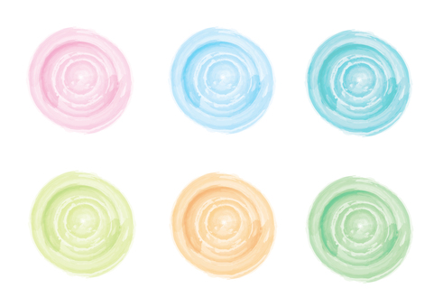 Water color _ swirl _ yen