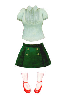 Dress-up doll (girly)