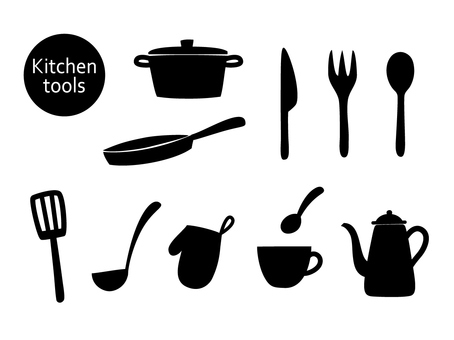 Kitchen tool (silhouette)