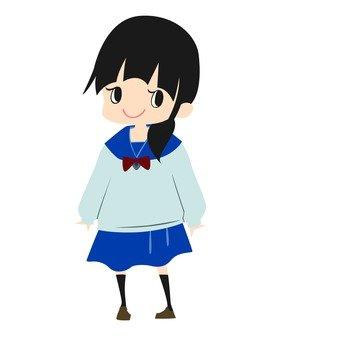 Female high student 4