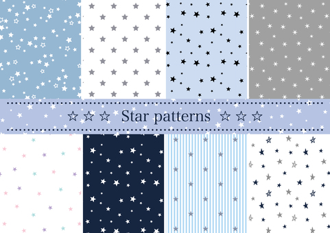 Star pattern set