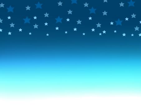 에메랄드 그린의 밤하늘