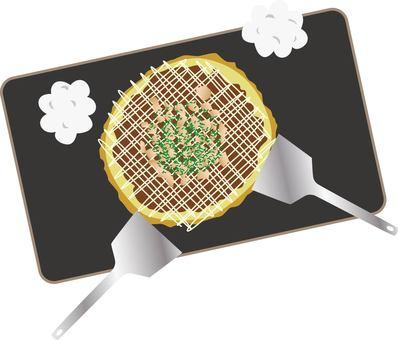 Teppanyaki and okonomiyaki