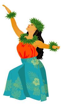 Hula Dance Hula Girl 02