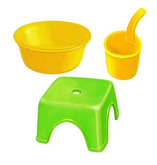 Bath equipment set