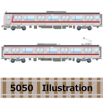 Commuter Train Series 5050 Tokyu Toyoko Line