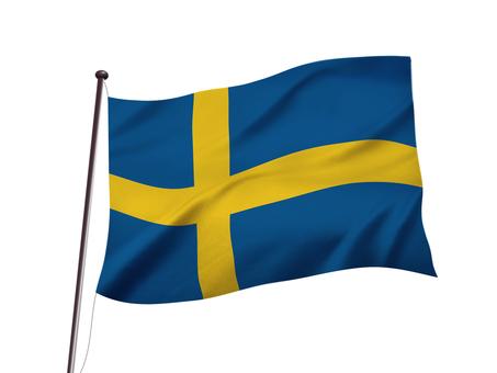 スウェーデンの国旗イメージ