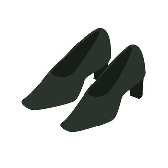 Mourning (ladies' shoes)