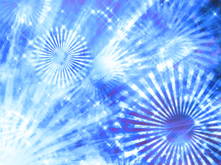 Sparkling background blue