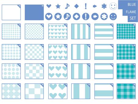 Other frame 16 _ set _ blue _ blue