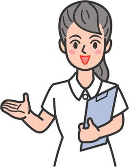 Nurse smiley kind