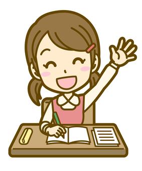 Girls (children): A_ lesson 03BS