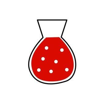 빨간색 약품