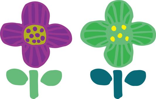 Scandinavian style, flower