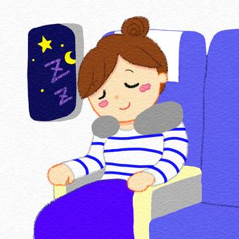 비행기 기내 박