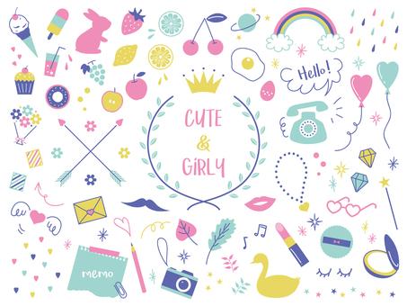 Basit girly kaba set 01