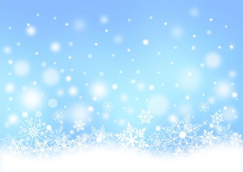 Christmas_light blue background 2299