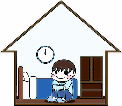 Spend time at home