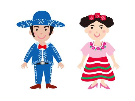 멕시코의 민족 의상