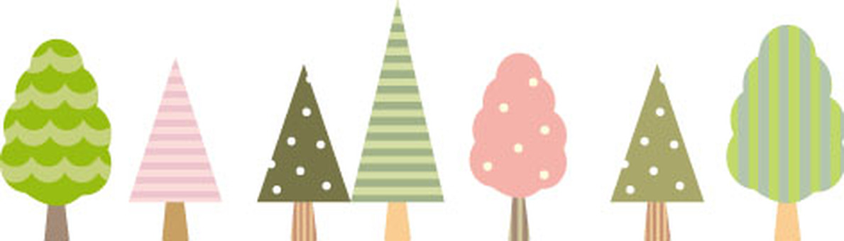 Cute tree of adult color