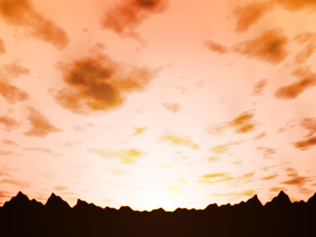 Sunset / Scales cloud background · Wallpaper Material 3