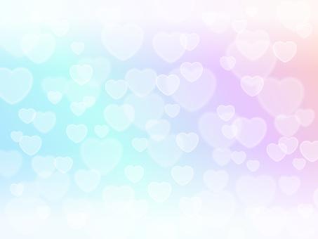 Heart light · rainbow color